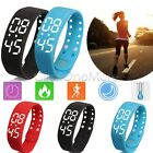 3D Pedometer Watch Bracelet Sport Activity Tracker Sleep Temperature LED Fitness