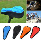 Cycling Bicycle Bike Silicone Saddle Seat Cover Silica Gel Cushion Soft Seat Pad