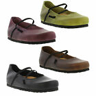 Oxygen Plymouth Womens Clogs Ladies Leather Shoes Size UK 4-8