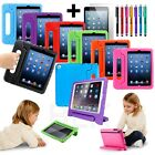 Kids Shock Proof Foam Case Handle Cover Stand for iPad Mini 1 2 3 4 Pro Air 12.9