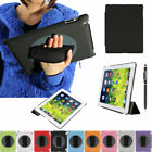 New FOR Apple iPad Mini 1 2 3 Case Drop-Proof Kickstand Hand Strap Cover