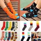 Women Girl Fashion Cotton Cartoon High Socks Hosiery Casual Stockings Xmas Gift