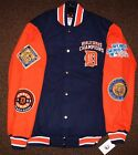 DETROIT TIGERS 4 TIME WORLD SERIES CHAMPIONSHIP Cotton Jacket M L on Ebay