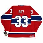 1992 93 Patrick Roy CCM Montreal Canadiens Throwback HEROES Home Jersey Mens