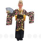 GIRLS GEISHA FANCY DRESS COSTUME JAPANESE ASIAN CHINESE CHILDS KIMONO BOOK DAY