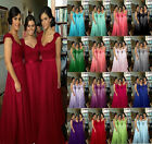 CHEAP Applique Long Wedding Ball Gown Evening Formal Party Prom Bridesmaid Dress