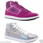 Lacoste Women's Calexi Mid High Top Laced Up Trainers Rubber Sole Sneakers Shoes