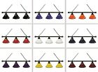 Choose Your Color 3 Shade Pool Billiard Light with Black Finish Fixture by HBS