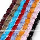 8*15mm Glass Crystal Loose Beads Findings DIY For Bracelet Necklace Gift