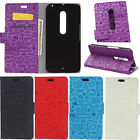 For Motorola Moto X Style / Pure Edition Girls Flip PU Leather Wallet Cover Case