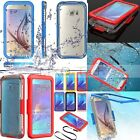WATERPROOF ShockProof Dust Hard Cover Case For Samsung Galaxy Note 5/S6/S6 Edge+