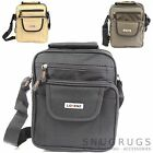 Handy Canvas Style Multi-Functional Shoulder / Messenger Flight Work Travel Bag