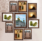 Room Decor Wall Photo Silver Antique Picture Frame 3x5, 4x6, 5x7, 6x8 8x10,A4,A3