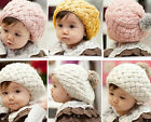 2015 Hot Winter Warm Cute Baby Kids Girls Toddler Knitted Crochet Beanie Hat Cap