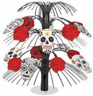 Day of The Dead Cascading Decoration Table Centerpiece Pack of 6 / 12