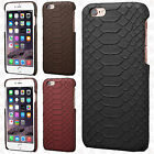 For Apple iPhone 6 6S Plus Hard TPU Snake Skin Case Cover +Screen Protector