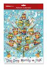 Advent Calendar/Calender ~ DING DONG (OWLS) ~ Traditional with Envelope (S1021)