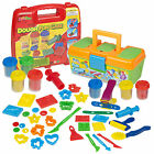 Play Dough Craft Gift Set Tubs & Shapes Playdough Children Toys Xmas Shapers NEW