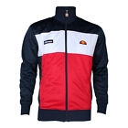 Mens Ellesse Caprini Dress Blue Racing Red Track Top