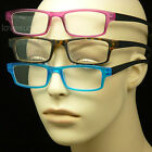 3 pair neck hanging no cord lot pack reading glasses spring hinge power strength
