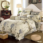 Floral Doona Quilt Cover Set Double/Queen/King Size Bed Duvet Covers 100%Cotton