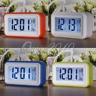 Touch Sensitive Light Control Backlight °C/°F 5V/Battery Date Snooze Alarm Clock