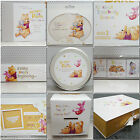 Limited Edition Hallmark Disney New Baby Winnie the Pooh Gift Range Collection