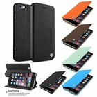 For iPhone 6S 6 Plus CobblePro Leather Wallet Card Holder Flip Stand Case Cover