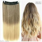 """17"""" 19"""" 20"""" 22"""" Ombre Clip in on Hair Extensions Two Tone"""