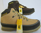 Caterpillar 'Restore' Mens Dark Brown or Honey Leather Work Boots UK  7 x 9 (22)