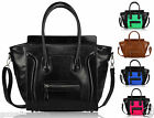 New Womens Ladies Celebrity Designer Bag Leather Style Tote Shopper Handbag