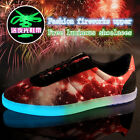 Fashion Womens and mens Couple casual shoes Sneakers Lace Up fluorescence shoes