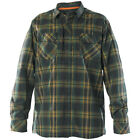5.11 Mens Covert Flannel Shirt Military Duty Hunting Cotton Long Sleeve Volcanic