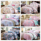 Peony King/Queen/Double Size Bed Linen New Cotton Quilt/Duvet/Doona Covers Set