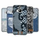 HEAD CASE DESIGNS JEANS AND LACES SOFT GEL CASE FOR HTC PHONES 2