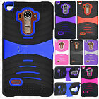 For At&t LG G Vista 2 Hard Gel Rubber KICKSTAND Case Phone Cover Accessory