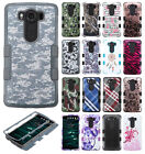 For LG V10 IMPACT TUFF HYBRID Protector Case Phone Cover Accessory