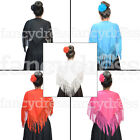 Small Spanish Flamenco Dance Shawl Fringe Childs Book Week Beautiful Traditional