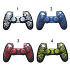 Totem Pattern Soft Silicone Gel Rubber Grip Protective Case  For PS4 Controller