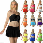 New Ladies/Girls UV Neon Ra-Ra Rara Skirt Dance Party Casual Club Wear