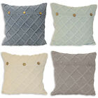 Paoletti Bronte Knitted 100% Cotton Cushion Cover