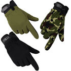 Men Outdoor Sports Camouflage Military Tactical Airsoft Shooting Hunting Gloves