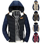 Designer jacket For Hooded Down Coat Mens Casual Winter Warm Quilted Outwear Top