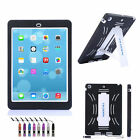 US Shockproof Hybrid Heavy Duty Military iPad Stand Hard Case Cover NEW