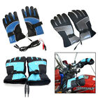 12V Motorcycle Bike Outdoor Hunting Men Power Electric Heated Hand Warmer Gloves
