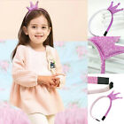1 X Fashion Girls Hair Hoops Kids Baby Crowns Hair Band for Party Decor T12