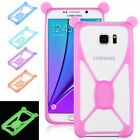 Protective Soft Silicone Bumper Case Cover Luminous Frame For Universal Phones