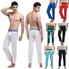 Fashion Sexy Men's Long Johns Modal Spandex Pants Underwear Stretch Pajamas New