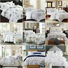 Floral Duvet Quilt Doona Cover Set Queen King Single Size Bed 100%Cotton New