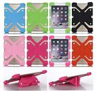 Universal Stand Rubber Soft Silicone Heavy Duty Case Cover Skin For ASUS Tablet